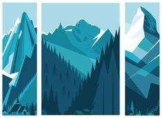 graphics like mountains - Google-haku
