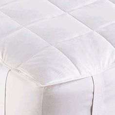#TajmaHome                #Home #Bedding            #down #piping #indulge #such #stitching #durability #luxurious #details #promise #mattress #many #luxury #look #blend #feather #pads #comfort #double #pad  Down Mattress Pad         Indulge in the luxury and comfort of a down filled mattress pad. Details such as double stitching and piping ensure both a luxurious look and promise durability. Unlike many down mattress pads that are actually a down and feather blend, this mattress…
