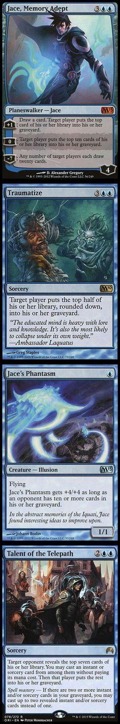 M15 x1 English Magic 2015 Jace the Living Guildpact Magic mtg Light Play