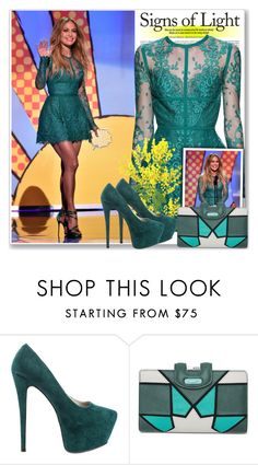 """""""Jennifer Lopez At Teen Choice Awards 2014"""" by antemore-765 ❤ liked on Polyvore featuring Jennifer Lopez, Elie Saab, Luichiny, Talitha, RedCarpet, ElieSaab, CelebrityStyle, JLO and Teenchoiceawards2014"""