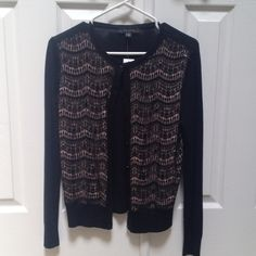 ANN TAYLOR Sweater Brand new - never worn!!! Ann Taylor black cardigan sweater. Ann Taylor Sweaters Cardigans