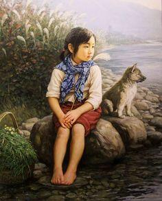 El Hurgador [Arte en la Red]: Pintando perros (XXXVII) - China (I)Li Zijian