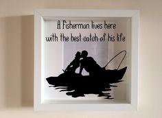 IKEA ribba Box cadre personnalisé Vinyle Mur Art Citation enseigner l/'amour Inspire Arrow