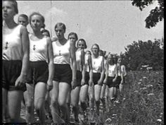 league of german girls | SD League of German Girls / Sports / Germany / 1935 – Stock Video ...