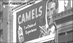 advertisment History Of Tobacco, Billboard, Camel, Broadway Shows, Advertising, Poster Wall, Camels, Bactrian Camel