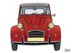 Max Miller, 2cv6, Car Illustration, Sad Art, Wood Plaques, Arte Pop, Whimsical Art, Comic Artist, Cadillac Eldorado