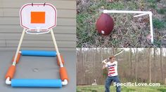 10 Life Hacks with PVC #9 Sports - YouTube