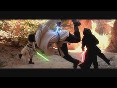 Star Wars Parkour Battle - The Flow Awakens - YouTube