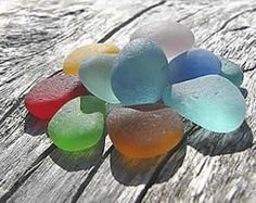 """Learn about sea glass here. Color rarity, quality condition and more."""