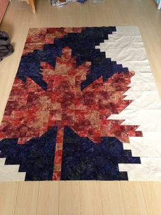 Glorious and Free quilt pattern. When finished will go to Quilts of Valour Canada. Fall Quilts, Scrappy Quilts, Quilts Canada, Rag Quilt, Quilt Blocks, Paper Piecing, Quilting Projects, Quilting Designs