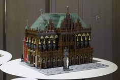 """""""Town Hall and Roland on the Marketplace of Bremen """" Lego Architecture, Lego Brick, Town Hall, Exhibit, Big Ben, Peace, World, Building, Bremen"""
