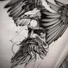 Artist - Art - Black and Grey- Dot Work - Drawing -Sketch - Tattoo Design