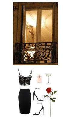 """Untitled #146"" by fleur-de-neige on Polyvore featuring Alexander McQueen, Emilio Pucci, Yves Saint Laurent, Crate and Barrel and Chanel"