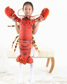 (99.00$)  Watch now - http://aifx9.worlditems.win/all/product.php?id=32807619280 - large 100cm cartoon red lobster plush toy soft throw pillow birthday gift b0960