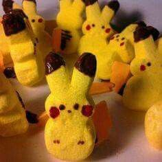 This Pokemon peep is pretty cool - and would be a fun activity for Easter with the boys /bakertrilogy/ Pokemon Birthday, Pokemon Party, Pokemon Snacks, Pokemon Ring, Pokemon Stuff, Boy Birthday, Birthday Parties, Birthday Ideas, Themed Parties