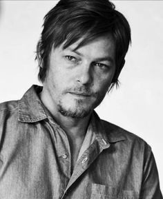 Norman Reedus black and white | Bless all who have posted Hello Herman caps and gifs. This man is ...