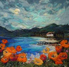 """Moy Mackay's """"By Poppy Shore""""  Absolulety stunning."""