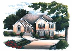 Eplans French Country House Plan - Sumptuous Master Bath - 1770 Square Feet and 3 Bedrooms from Eplans - House Plan Code HWEPL02603