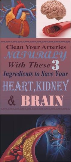 If you Want to Clean Your Arteries Naturally With These 3 Ingredients To Save Your Heart, Kidneys And Brain findout more in this article ...