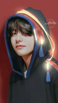 My darling kim taehyung ❤ ❤ ❤ bts boys, bts fan art Jimin, Bts Bangtan Boy, Jhope, Namjoon, Daegu, Taehyung Fanart, Kim Taehyung, Foto Bts, K Pop