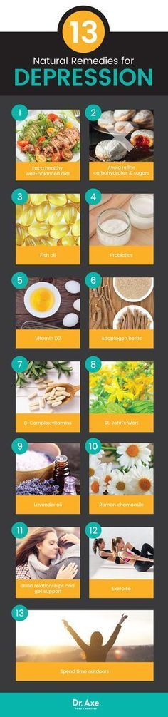 13 natural remedies for depression - Dr. Axe