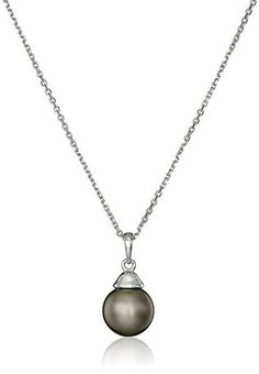"""14k Gold AA Quality Natural Color Tahitian Cultured Pearl Necklace, 18"""" ONLY $224.00 A Quality Woman's Gift"""