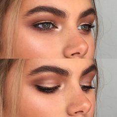 Colores #Naturales en tus #Ojos para lograr la tendencia #Bronzed #Makeup