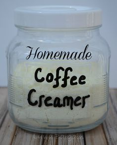 Homemade Coffee Creamer - skip some of the questionable ingredients in the store-bought creamer and make your own!