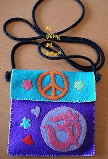 Bolso Hippie De Fieltro