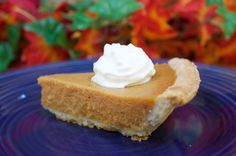 pumpkin pie from pum