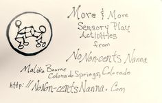 Designing my new biz logo for sensory play acitivies. What do you think for starts?