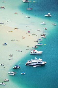 Kaneohe Bay, Hawaii by Ron Dahlquist