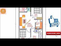 HOUSE PLAN 20' X 30' / 600 SQ.FT / 67 SQ.YDS / 56 SQ.M / 67 GAJ / (4K) - YouTube 20x30 House Plans, 30th, How To Plan, Youtube, Youtubers, Youtube Movies