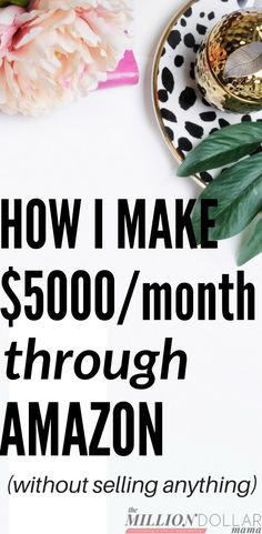 How to make money on Amazon | How to make extra cash on Amazon | How to make money online | How to make money blogging