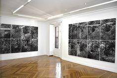 Jan Hendrix Drawing the Distance. Screenprint on aluminium panel. 2014. 30 pieces #printedbypablotorrealba #tptgrafica