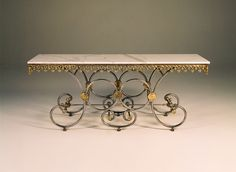 A French Pastry Table