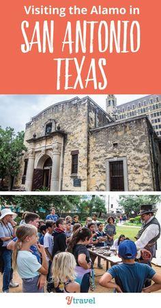 Visiting the Alamo S