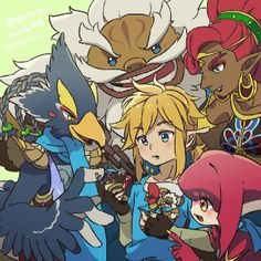 Which Legend of Zelda race are you? - Quiz
