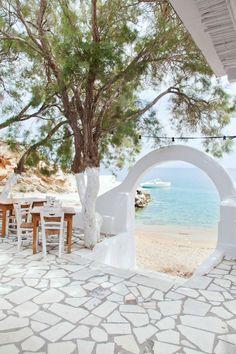Strandhaus in Griechenland