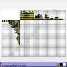 Griddlers Puzzle 174439 Krasukha-2 (Military Technology)