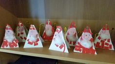 Nikolaus - Tischdeko - New Ideas Crafts For Teens, Diy And Crafts, Saint Nicholas, Advent Calendar, Religion, Table Decorations, Christmas Ornaments, Holiday Decor, Fun