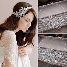 Wedding Bridal Crystal Rhinestone Party Headband Tiara Clear Hair Accessories #UnbrandedGeneric