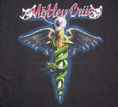Motley Crue 1989 Dr Feelgood Vintage T Shirt Fans Deadstock Heavy Rock, Heavy Metal, Vintage Rock T Shirts, Music Pics, Art Music, Glam Metal, Tour Posters, Movie Posters, Nikki Sixx