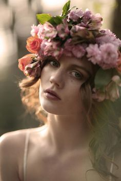 floral crown of princess
