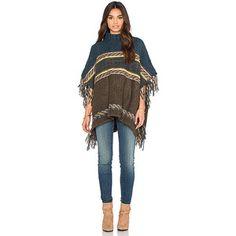 Free People Labyrinth Poncho Sweaters & Knits