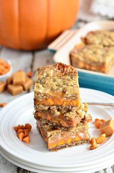 Pumpkin Spice Carmelitas recipe at TidyMom.net
