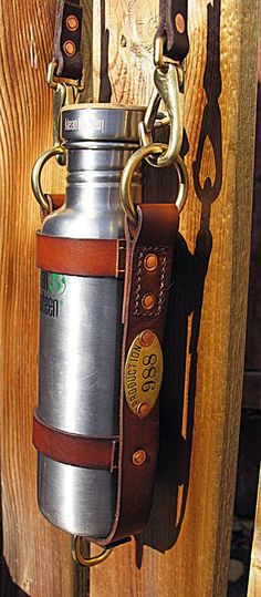 Leather Klean Kanteen Bottle Holder