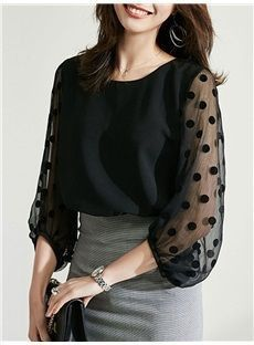 Cute Blouses, Blouses For Women, Iranian Women Fashion, Sleeves Designs For Dresses, Blouse Models, Blouse Outfit, Look Fashion, Womens Fashion, Blouse Designs