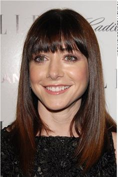 alyson hannigan. Her smile is just so adorable.