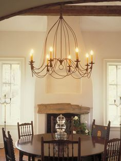 Bell 8 candle Chandelier by Studio Steel Candle Chandelier, Chandeliers, Chapel Hill, Ceiling Lights, Candles, Steel, Studio, Lighting, Kitchen
